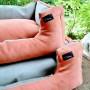 Sofa GreenBeige&Orange